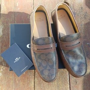NWT Authentic Men's Coach Loafers